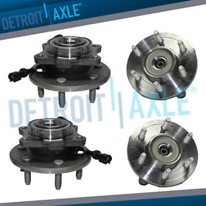Front Rear Wheel Hub Bearings For 2003 2004 2006 Expedition Navigator 4wd