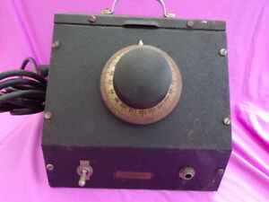 Vintage Western Electric Three Tube Power Supply 0 150