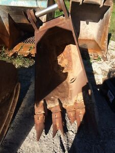 Hensley Rock Bucket For Excavator 90 Mm