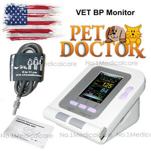 Veterinary Blood Pressure Monitor Digital Nibp Electronic Sphygmomanometer Vet
