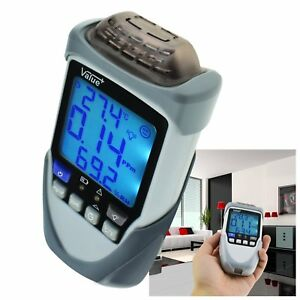 Formaldehyde Hcho Meter Detector Digital Temperature Mg Ppm Air Quality Tester