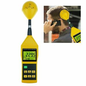 Electromagnetic Radiation Tester Detector 10mhz To 8ghz Rf Field Strength Meter