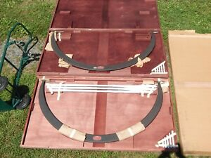Starrett Micrometer New In Box Lot Of Two Large Industrial 48 To 54 Inch Tubular