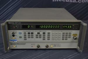Hp 8657b 001 022 h23 h70 Synthesized Signal Generator 100 Khz To 2060 Mhz