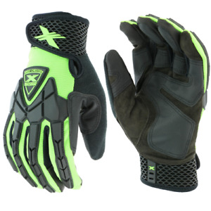 Extreme Work Strike Protex With Xlock Cuff Impact Mechanics Gloves 89306