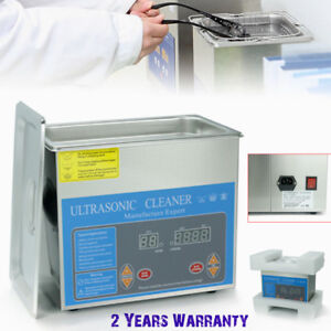 3l Industry Digital Heated Ultrasonic Cleaners Lab Equipment Heater W timer 120w