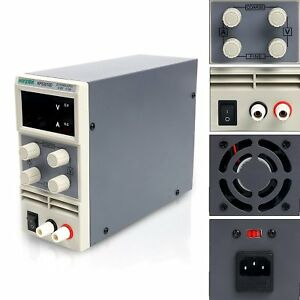 Yaeccc 30v 10a Precision Variable Adjustable Digital Regulated Dc Power Supply