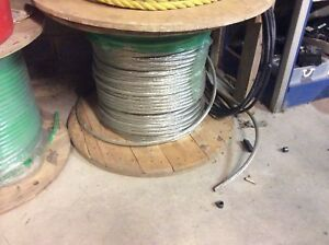 4 0 Bare Copper Wire Thhn 750 Feet Give Or Take Still On Spool