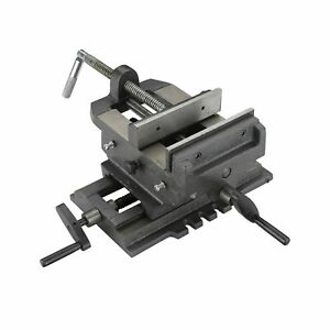 Hiltex 55091 4 Cross Slide Vise Heavy Duty 2 way X Y Axis Drill Press For