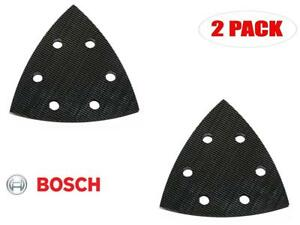 Bosch 2 Pack Of Genuine OEM Replacement Backing Pads # 2608000174-2PK