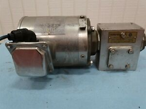Sterling Electric Sby054mca Electric Motor 5hp 3ph W sterling Reducer 20 1