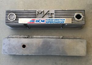 Mickey Thompson M T Super Charger Valve Covers 140r 50b