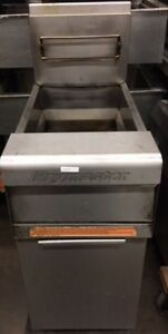 Frymaster Dean Gas Deep Fryer 35 50 Lbs Commercial Stainless Steel Gently Used