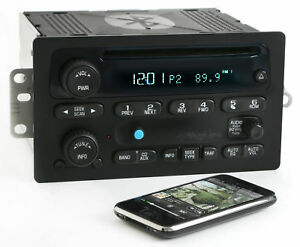 Chevy Gmc 03 05 Truck Radio Am Fm Cd Player Upgraded W Bluetooth Music 15138488