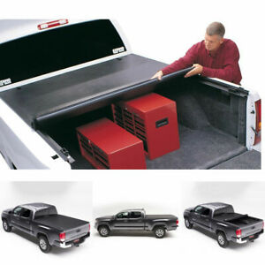 Soft Roll Up Tonneau Cover Fit 04 06 Tundra Double Crew Cab 6 2 Ft Fleetside