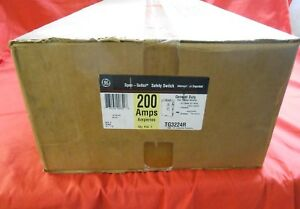 Ge Tg3224r Outdoor General Duty Safety Switch 200 Amp 2 poles New In Box