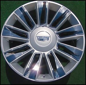 Cadillac Escalade Platinum Sgg Wheel 22 In New Oem Factory Gm Spec 4740 22934656