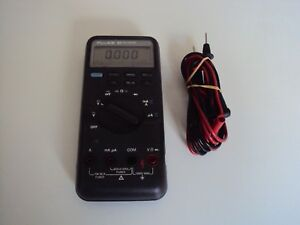 Fluke 83 Multimeter Calibrated With Leads
