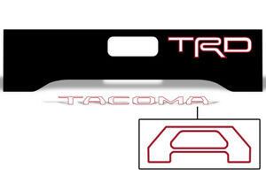 Toyota Tacoma Truck Bed Tailgate Graphic Wrap Sticker Insert Decals 16 17 Trdk