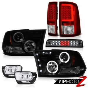 2010 2018 Dodge Ram 2500 3500 Tail Light Euro Clear Fog Lamp Brake Head Lamps