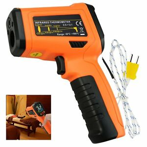 Infrared Ir Laser Thermometer K type Thermocouple 50 800 c 58 1472 f Gun type