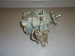 Reman Rochester 2 Barrel Carburetor Carb 2 Jet Chevy Chevrolet Gmc Governor