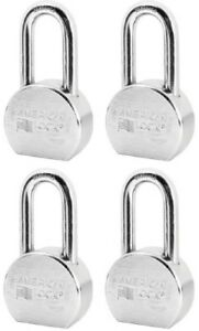 4 American Lock A703ka35257 2 1 2 Keyed Alike Case Hardened Steel Padlocks