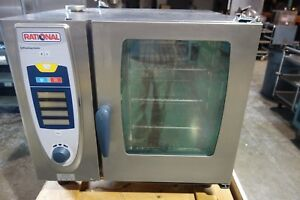 Rational Combi Steam Oven Model Scc 61