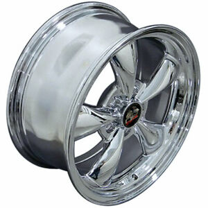 Chrome 17 Rim 3448 Mustang Bullitt Style Wheel 17x8
