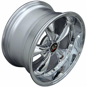 Chrome 18 Rim Mustang Bullitt Style Wheel 18x10