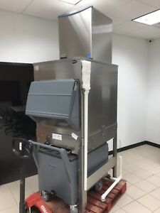 Brand New Scotsman F1222r 30 Flaker Ice Machine With Follet Base
