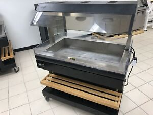 Bki Mm 4 Mobile Heated Merchandiser 120volt Works Perfect