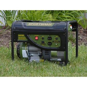 Generator Portable Powerful 2000 Watts Gasoline Long Lasting Solid Engine Charge