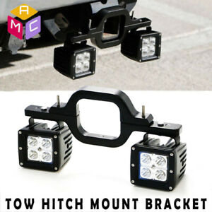 4fit Ford F150 250 350 Truck Suv Backup Reverse 3 Tow Hitch 16w Led Light Bar