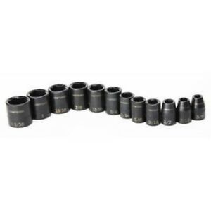 Craftsman 12 Pc Laser Impact Socket Accessory Set 1 2 Drive Inch