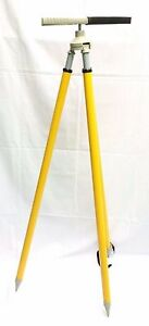 Bi pod Tripod Prism Pole for Surveying Total Station Sokkia topcon nikon