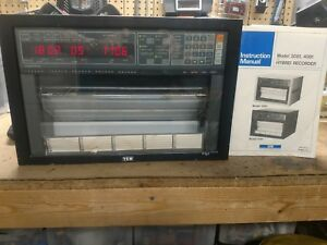 Yokogawa 4081 11 Hybrid Recorder With Optional Rs232 Adapter