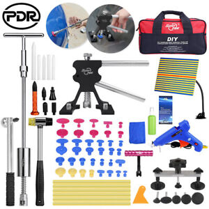52 Pdr Tools Dent Lifter Puller Paintless Hail Repair Slide Hammer Removal Kits