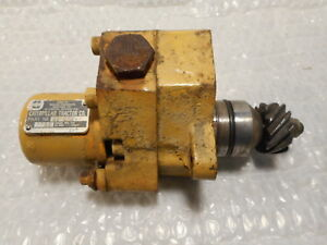 Cat Caterpillar Fuel Transfer Pump W Hour Meter 7s4435 9s9354 D7 3306 Dozer
