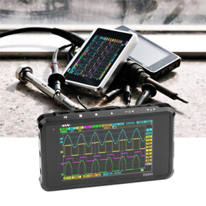 Dso203 Mini Portable Digital Oscillo scope 4 Channel 72msa s Aluminium Case