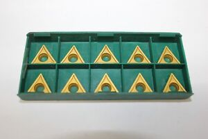 Everede Tooling Inserts Tpgh 315 cv6 lot Of 10 Ea inserts