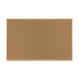 Mastervision Value Cork Bulletin Board With Oak Frame 48 X 72 Natural