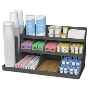 Mind Reader Extra Large Coffee Condiment And Accessory Organizer 24 X 11 4 5 X