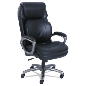 Sertapedic Cosset Big And Tall Executive Chair Black 48964