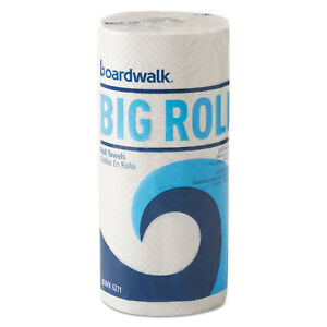 Boardwalk Office Packs Perforated Paper Towel Rolls 2 ply White 9 X 11 210