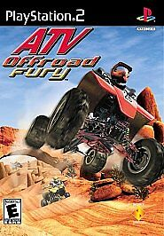 Atv-Offroad Fury PLAYSTATION 2 (PS2) Racing / Driving (Video Game)