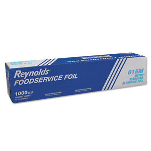 Reynolds Wrap Metro Aluminum Foil Roll Lighter Gauge Standard 18 X 1000 Ft