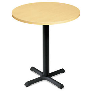 Hon Self edge Round Hospitality Table Top 30 Diameter Natural Maple Ctrnd30ndd