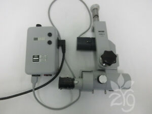 Zeiss Opmi 9 Surgical Microscope With F 125 Objective And Power Supply
