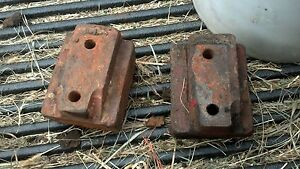 Farmall 400 450 Super M Side Frame Channel Rail Engine Holders Support